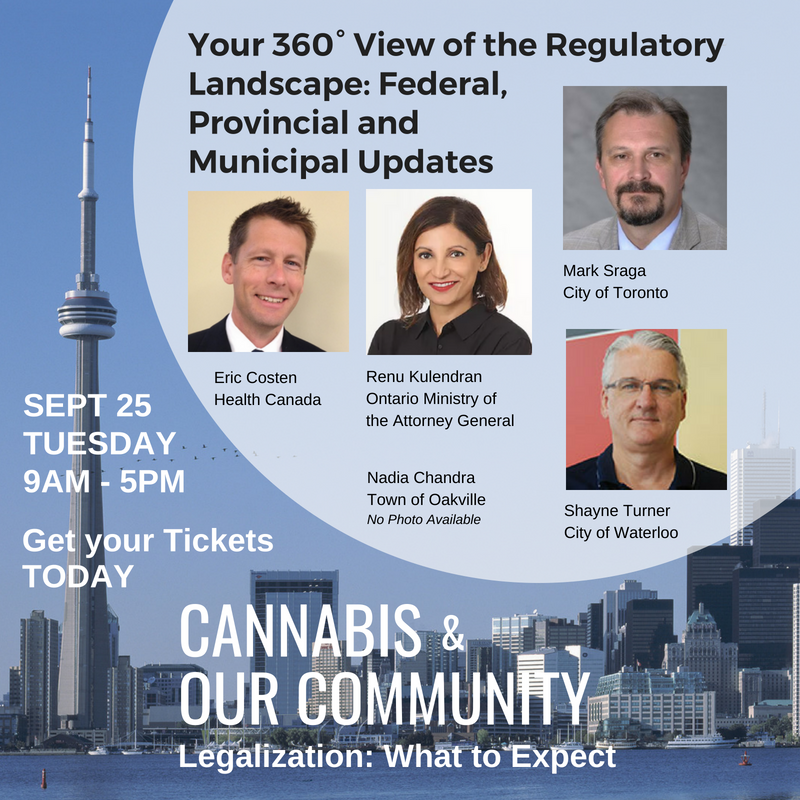 EVENT: Cannabis & Our Community – Toronto, Sept 25, 2018