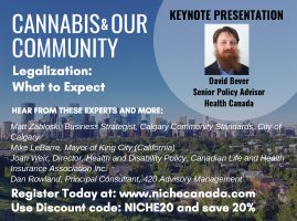 NICHE Canada's Cannabis & Our Community Series Continues in Calgary October 23rd