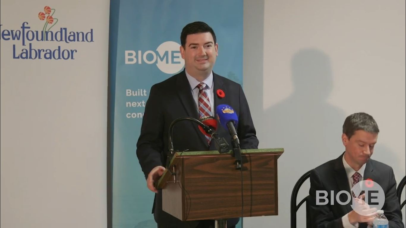 Biome Grow announces supply and production agreement with Province of Newfoundland and Labrador, including distribution and retail services