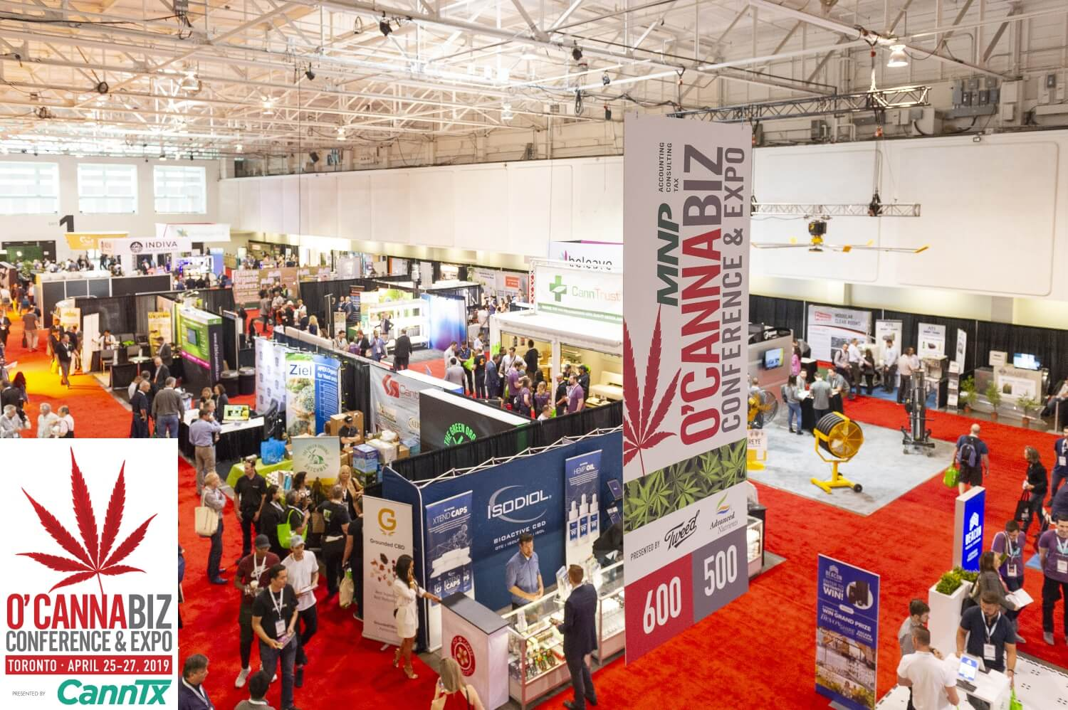 O'Cannabiz Toronto Expo, Conference & Industry Awards April 25-27 2019